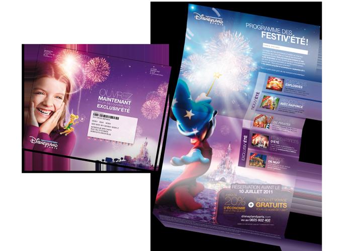 Mailing Classique Disneyland Paris Programme des festiv'été