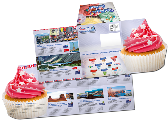 Mailing Fantaisie DerPart cupcake