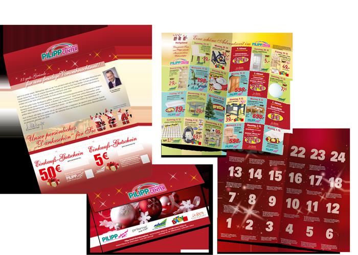 Coupon-Mailing Pilipp calendrier de l'Avent