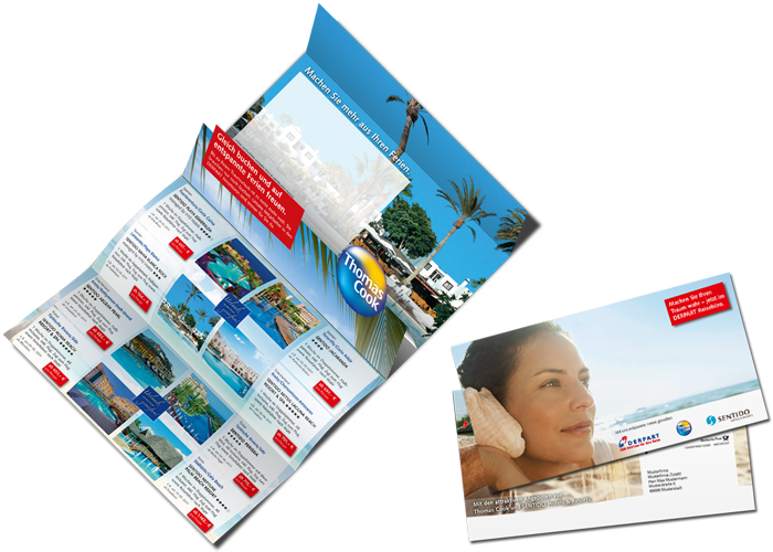 Pop Up Mailing Thomas Cook