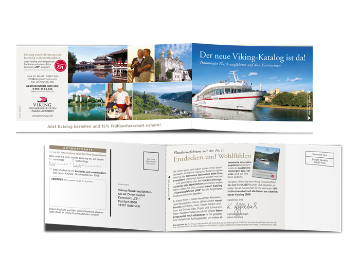 Reponse Mailing Viking Katalog